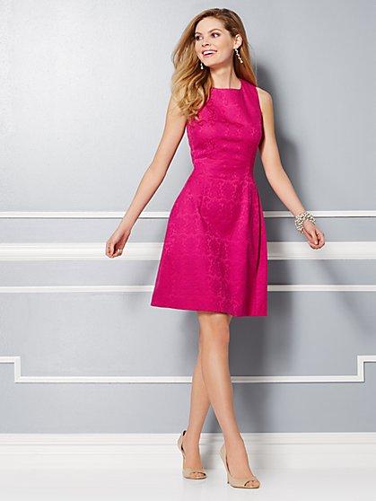 Eva Mendes Party Collection - Maria Jacquard Dress  - New York & Company