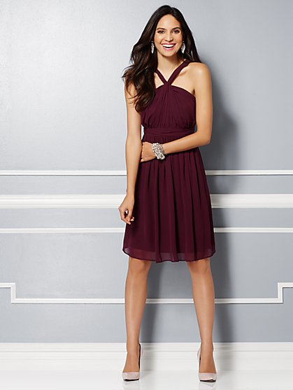 Eva Mendes Party Collection - Samantha Chiffon Dress  - New York & Company