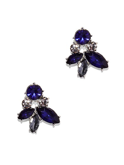 Eva Mendes Party Collection - Sparkling Cluster Earring - New York & Company