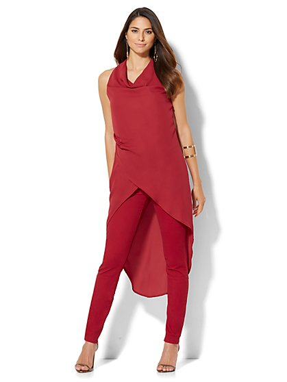 Extreme Hi-Lo Shirt - Draped  - New York & Company
