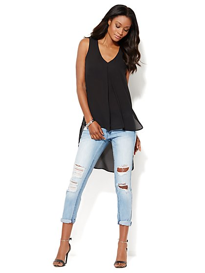 Extreme Hi-Lo Sleeveless Tunic - New York & Company