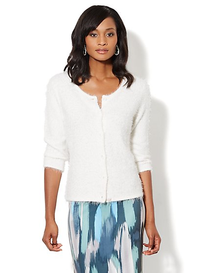 Eyelash Cardigan - New York & Company