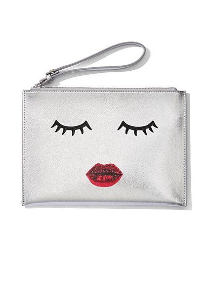 Eyelash & Lips Pochette  - New York & Company