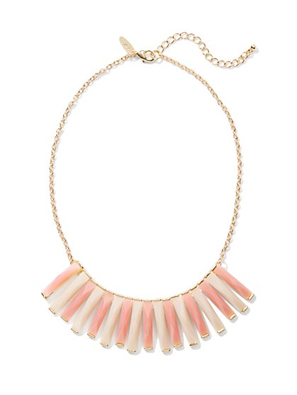 Faceted Bars Necklace - New York & Company