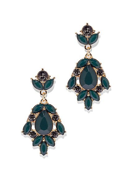 Faceted Bead Cluster Drop Earring  - New York & Company