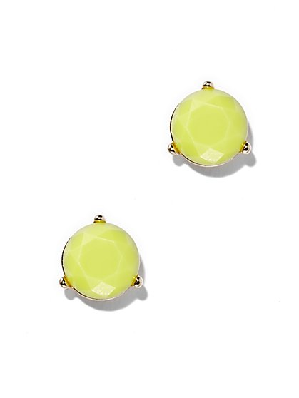 Faceted Goldtone Earring  - New York & Company