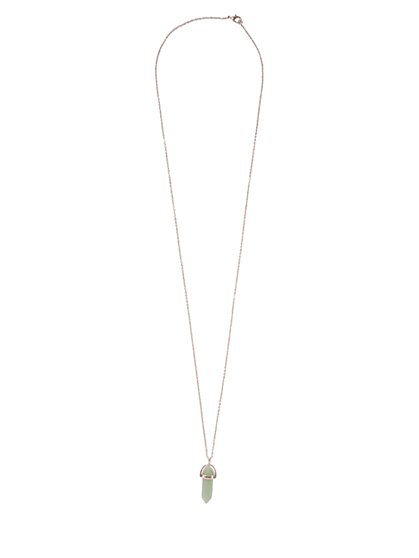 Faux-Crystal Pendant Necklace  - New York & Company