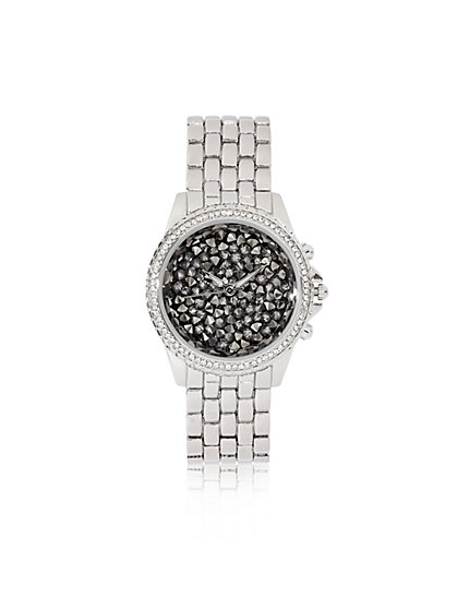 Faux-Druzy Dial Watch  - New York & Company