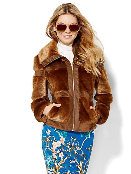 Faux-Fur Jacket  - New York & Company