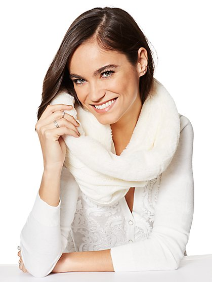 Faux-Fur Snood  - New York & Company