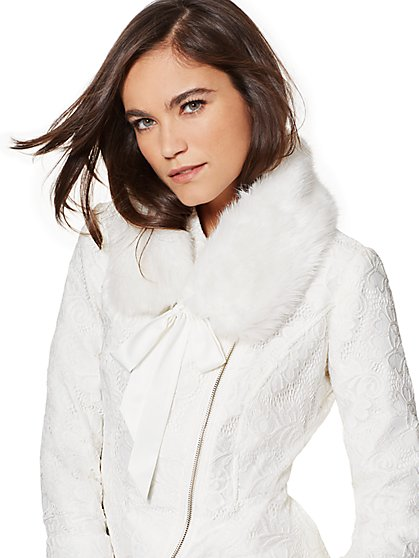 Faux-Fur Stole  - New York & Company
