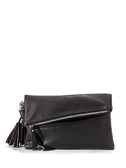 Faux-Leather Crossbody Bag - New York & Company