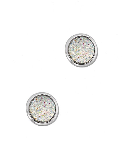 Faux-Opal Post Earring - New York & Company