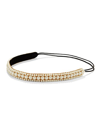 Faux Pearl Headband  - New York & Company