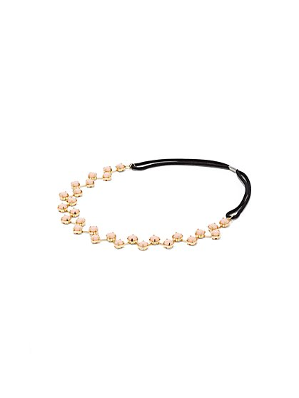Faux Stone-Accent Headband  - New York & Company