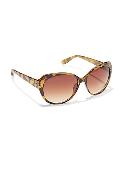 Faux Tortoiseshell Sunglasses  - New York & Company