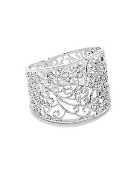 Filigree Cuff Bracelet  - New York & Company