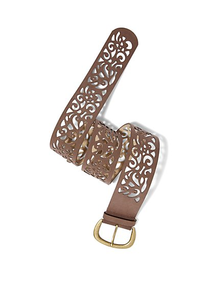 Filigree Cutout Belt  - New York & Company