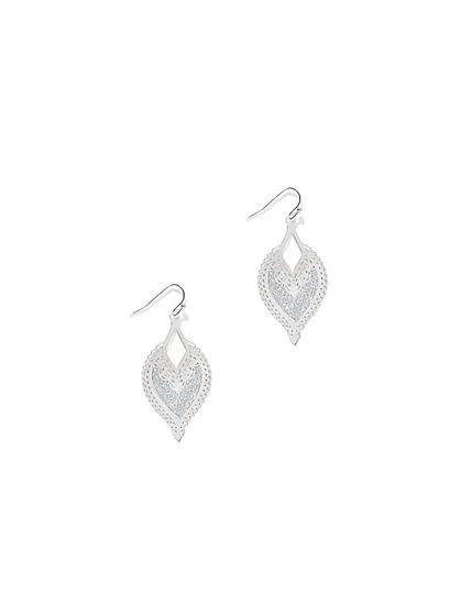 Filigree Drop Earring  - New York & Company