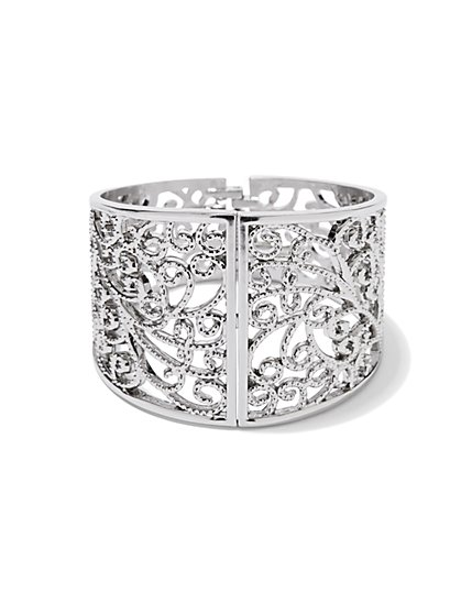 Filigree Hinge Cuff - New York & Company