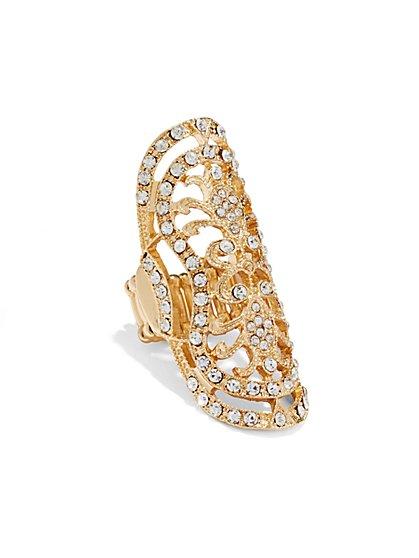 Filigree Stretch Ring  - New York & Company