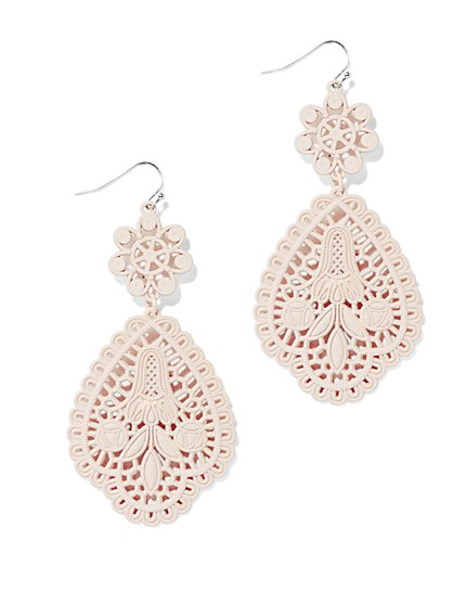 Filigree Teardrop Earring  - New York & Company