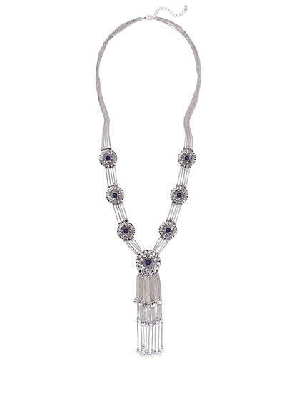 Filigree Y Necklace  - New York & Company