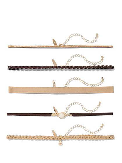 Five-Piece Choker Set  - New York & Company