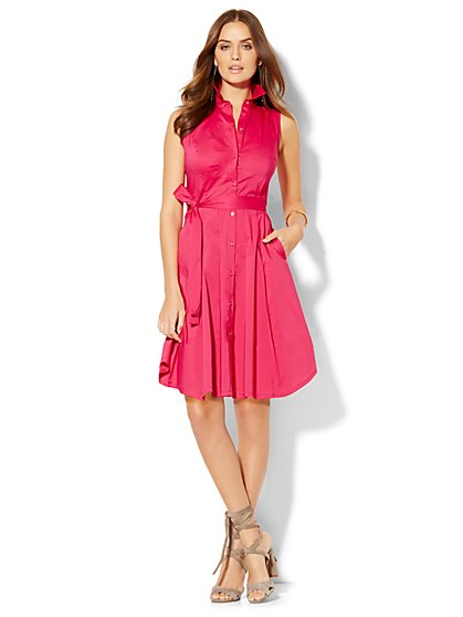 Flare Shirtdress - New York & Company