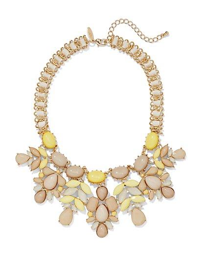 Floral Bib Necklace  - New York & Company