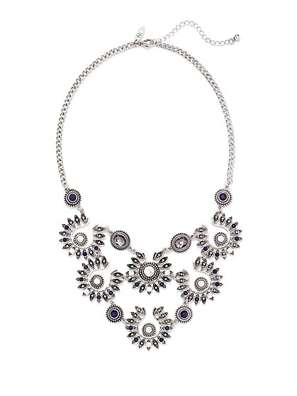 Floral Bib Necklace  - New York & Company