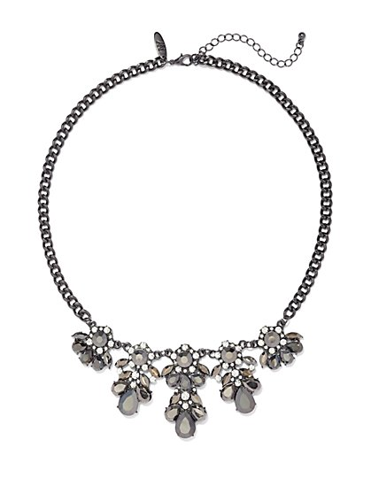 Floral Cluster Necklace  - New York & Company