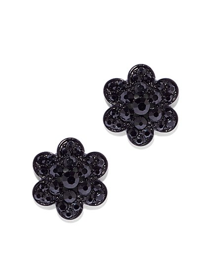 Floral Cluster Post Earring  - New York & Company