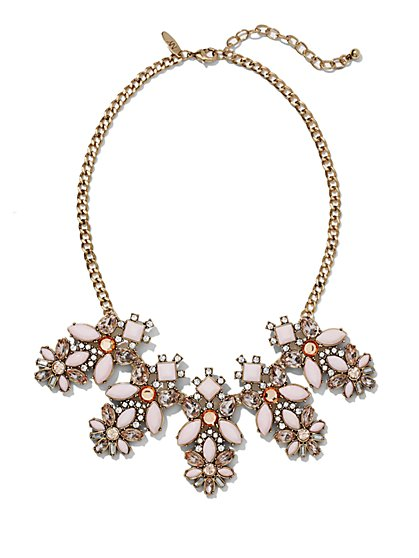Floral Collar Necklace  - New York & Company