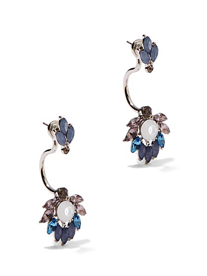 Floral Drop Earrings  - New York & Company