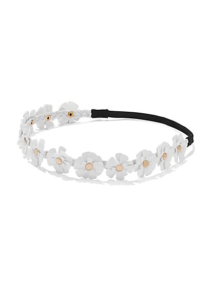 Floral Headband - New York & Company