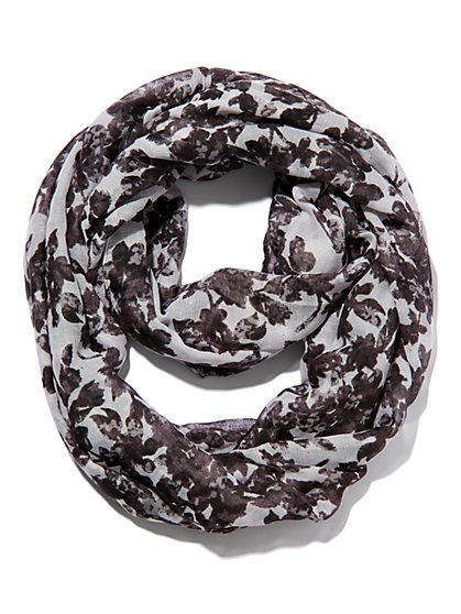 Floral Infinity Scarf - New York & Company