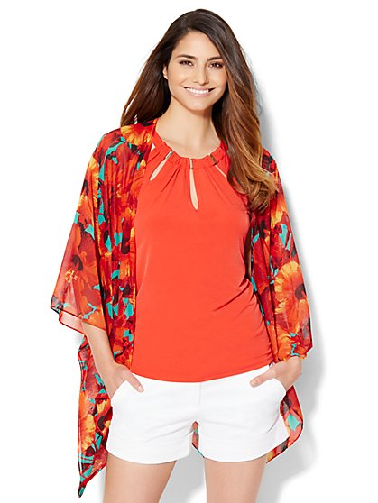 Floral Kimono  - New York & Company
