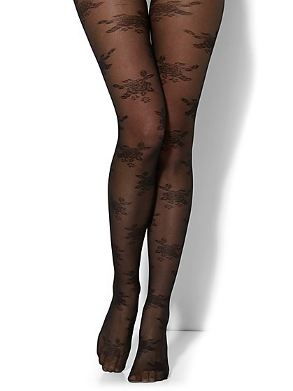 Floral Lace Tight  - New York & Company