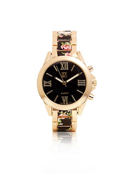 Floral Link Watch  - New York & Company