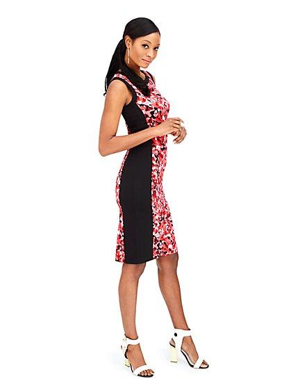 Floral Midi Sheath Dress  - New York & Company