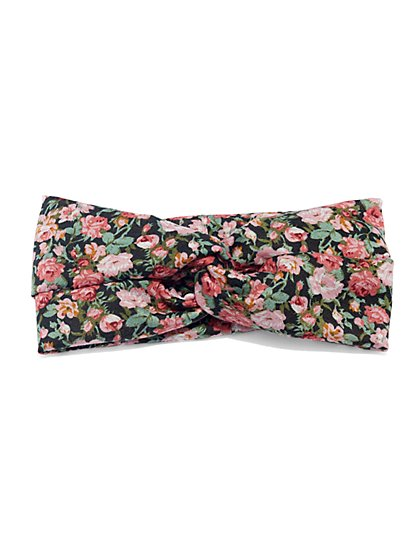 Floral-Print Headband  - New York & Company