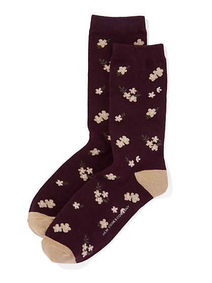 Floral Sock  - New York & Company