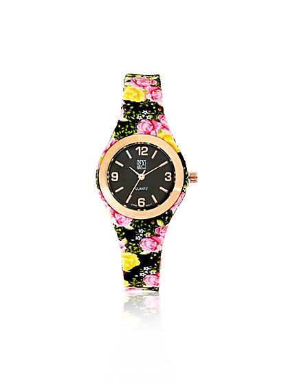 Floral Strap Watch  - New York & Company