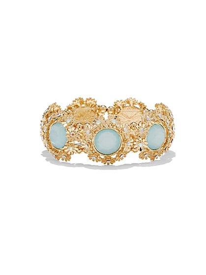 Floral Stretch Bracelet  - New York & Company