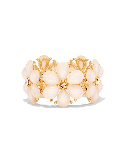 Floral Stretch Bracelet  - New York & Company