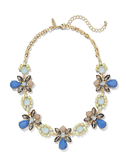 Flower Collar Necklace  - New York & Company