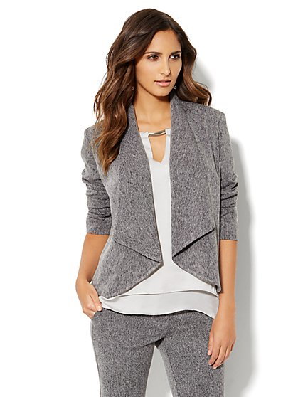 Flyaway Jacket - Grey - New York & Company