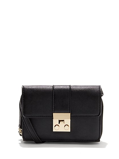 Foldover Crossbody Bag  - New York & Company