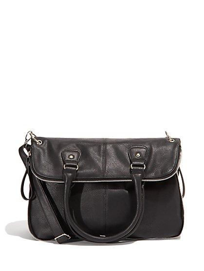 Foldover Tote Bag - New York & Company